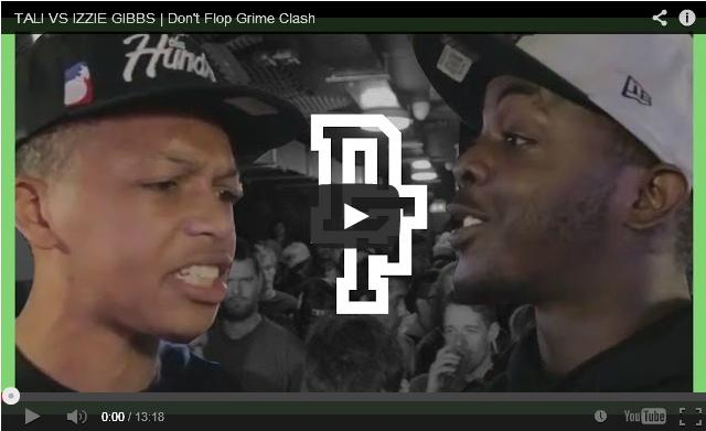 BRITHOPTV: [Battle Video] Tali ( @TaliMusicUK) Vs Izzy Gibbs ( @IzzyGibbs) #Grime Clash [ @DontFlop] UK Hip Hop UK Battle Rap