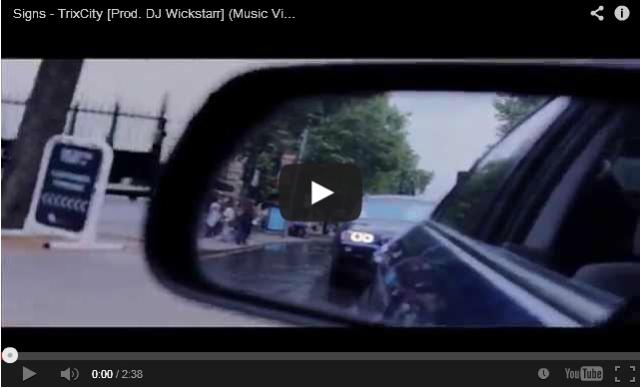 BRITHOPTV: [Music Video] Trixcity (  @TrixCity) - 'Signs' [Prod. DJ Wickstarr] | UK Rap UK Hip-Hop