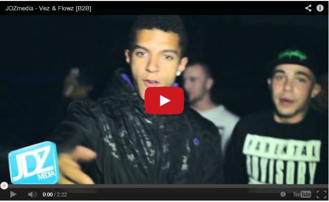 BRITHOPTV: [Freestyle Video] Vez & Flowz  ( @123_vez & @ThisIsFlowz ) - ' #B2B #Freestyle' [ @JDZmedia] | #Grime