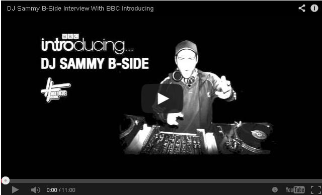 BRITHOPTV- [Audio Interview] DJ Sammy B-Side (@DJSammyBSide) Interview With BBC Introducing [@HighFocusUK] - #UKHipHop.