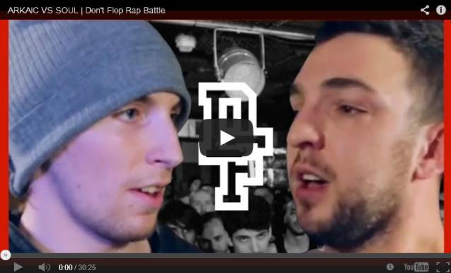 BRITHOPTV- [Battle Video] Arkaic ( @MrArk) Vs Soul ( @SoulWasTaken) [ @DontFlop] - #UKHipHop #UKBattleRap