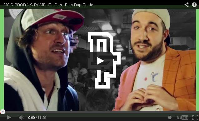 BRITHOPTV- [Battle Video] Mos Prob ( @AdamDFelman) Vs Pamflit ( @MCPamflit) [ @DontFlop] -#UKHipHop #UKBattleRap