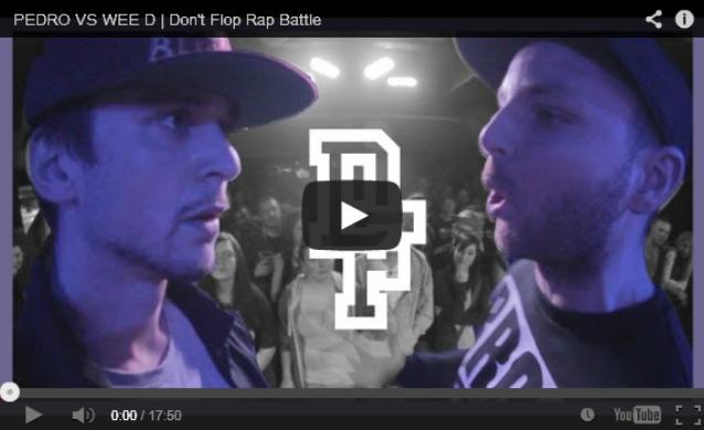 BRITHOPTV- [Battle Video] Pedro (@PedroDontFlop) Vs Wee D [ @DontFlop] - #UKHipHop #UKBattleRap.