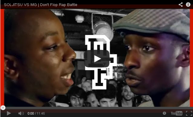 BRITHOPTV: [Battle Video] Soljitsu (@SoljahMan) Vs Mg ( @GeeMoney) [ @DontFlop] | #UKHipHop #UKBattleRap