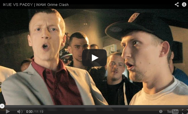 BRITHOPTV- [Battle Video] WAW Grime Clashes- Ikue ( @ikueartist) Vs Paddy [ @wawgrimeclashes] -Grime.