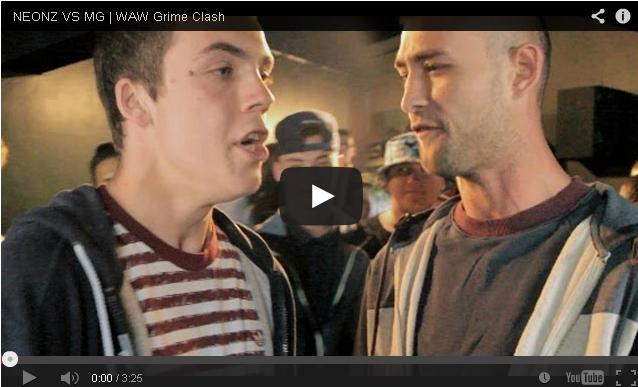 BRITHOPTV- [Battle Video] WAW Grime Clashes- Neonz Vs MG [ @wawgrimeclashes ]- #Grime
