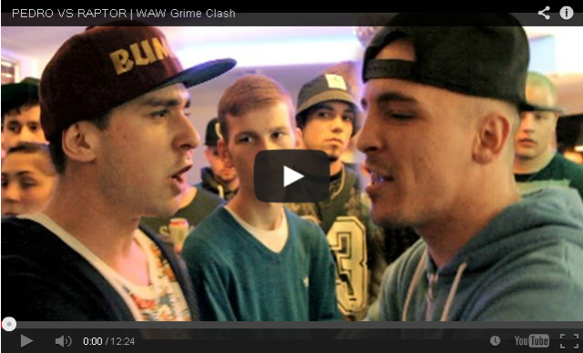 BRITHOPTV- [Battle Video] WAW Grime Clashes- Pedro ( @pedrodontflop) Vs Raptor ( raptorwarhurst) [ @wawgrimeclashes] - #Grime.