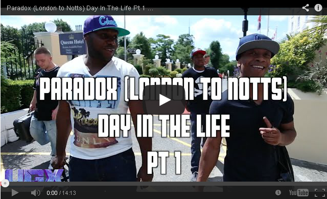 BRITHOPTV- [Behind The Scenes] -Paradox (London to Notts) Day In The Life Pt 1 [@UGXposure] - #UKRap #UKHipHop