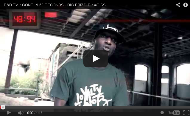 BRITHOPTV- [Freestyle Video] Big Frizzle (@Burgundybrick) – 'Gone in 60 seconds' #GISS Freestyle [ @EandDaniels TV]- #UKRap #UKHipHop.