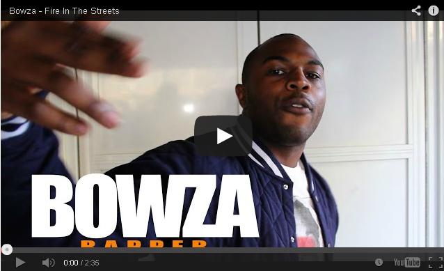 BRITHOPTV- [Freestyle Video] Bowza (@BowzaUK) – ' #FireInTheStreets' [ @CharlieSloth] - #UKRap #UKHipHop.