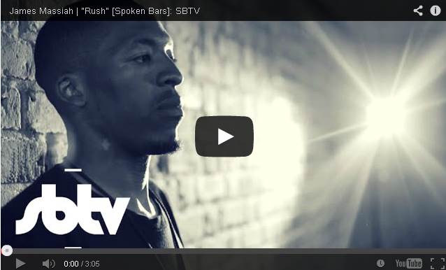 BRITHOPTV- [Freestyle Video] James Massiah ( @jamesmassiah) – 'Rush' [Spoken Bars] - #SpokenWord #Poetry #UKRap.