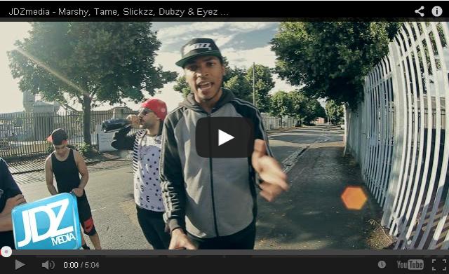 BRITHOPTV- [Freestyle Video] #JDZMediaCypher Marshy (@MarshyOfficial) Tame (@Tameismoney) Slickzz (@SlickzzOfficial) Dubzy (@DubzySnazz) Eyez (@Eyez_UK) [@JDZMedia] - #Grime #UKRap.