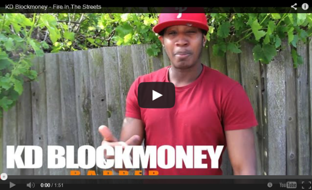 BRITHOPTV- [Freestyle Video] KD Blockmoney (@KDBlockmoney) – ' #FireInTheStreets' [ @CharlieSloth] - #UKRap #UKHipHop