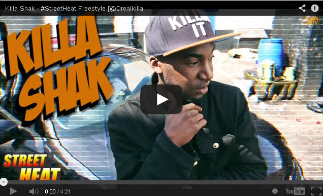 BRITHOPTV: [Freestyle Video] Killa Shak (@DrealkillaOCB - #StreetHeat Freestyle | #UKRap #UKHipHop