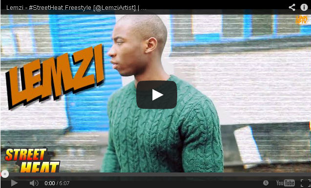 BRITHOPTV: [Freestyle Video] Lemzi (@LemziArtist) - #StreetHeat Freestyle | #UKRap #UKHipHop