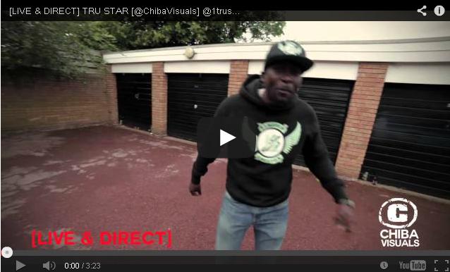 BRITHOPTV- [Freestyle Video] LIVE & DIRECT – Tru Star ( @1trustar4eva) [ @ChibaVisuals] - #UKRap #UKHipHop