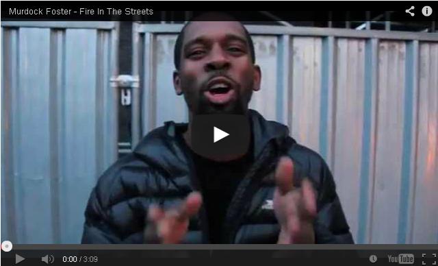 BRITHOPTV- [Freestyle Video] Murdock Foster (@Murdock_Foster) – ' #FireInTheStreets' [@CharlieSloth] - #UKRap #UKHipHop.