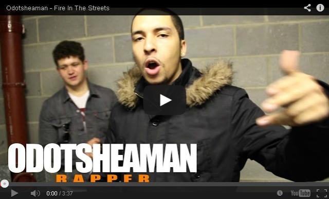 BRITHOPTV- [Freestyle Video] Odotsheaman (@Odotsheaman) – ' #FireInTheStreets' [ @CharlieSloth] - #UKRap #UKHipHop.