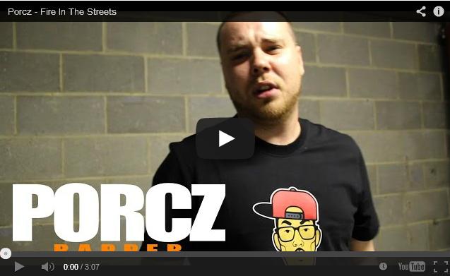 BRITHOPTV- [Freestyle Video] Porcz (@Porcz) – ' #FireInTheStreets' [ @CharlieSloth] - #UKRap #UKHipHop