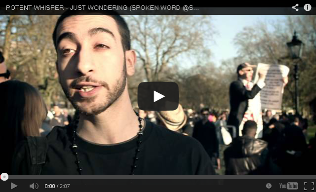 BRITHOPTV- [Freestyle Video] Potent Whisper (@PotentOfficial) – #SpokenWordAtSpeakersCorner (@SpeakersCorner) #Freestyle- #SpokenWord #Poetry #UKHipHop #UKRap.