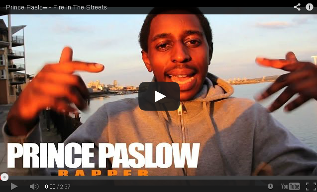 BRITHOPTV- [Freestyle Video] Prince Paslow ( @Prince_Paslow) – ' #FireInTheStreets' [ @CharlieSloth] - #UKRap #UKHipHop