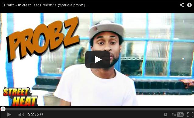 BRITHOPTV- [Freestyle Video] Probz (@officialprobz) – #StreetHeat Freestyle - #UKRap #UKHipHop.