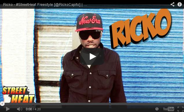 BRITHOPTV- [Freestyle Video] Ricko (@RickoCapito) – #StreetHeat Freestyle - #UKRap #UKHipHop.
