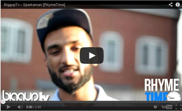 BRITHOPTV: [Freestyle Video] Sparkaman (@SPARKAMAN14) - #RhymeTime Freestyle [@BiggUpTV] | #UKRap #UKHipHop
