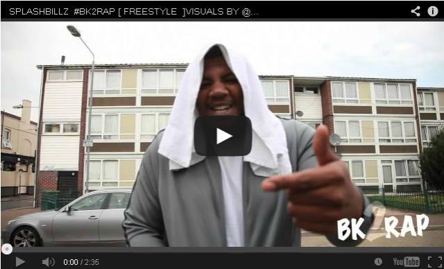 BRITHOPTV- [Freestyle Video] SplashBillz (@SPLASHBILLZ ) – '#BK2RAP #Freestyle' [@RAPCITYTV] - #UKRap #UKHipHop
