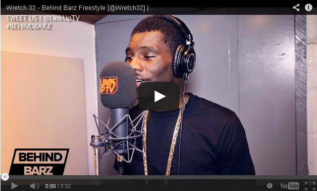 BRITHOPTV- [Freestyle Video] Wretch 32 (@Wretch32) – ' #BehindBarz' [ @LinkUpTV] - #UKRap #UKHipHop.