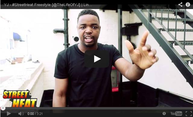 BRITHOPTV- [Freestyle Video] YJ ( @TheLifeOfYJ) – #StreetHeat Freestyle - #UKRap #UKHipHop.