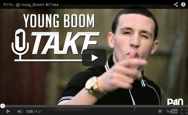 BRITHOPTV- [Freestyle Video] Young Boom ( @Young_Boom1) – #1TAKE #Freestyle [ @P110Media] - #Grime.