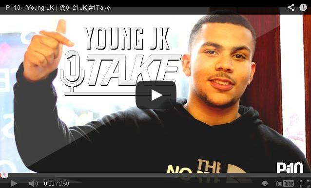 BRITHOPTV- [Freestyle Video] Young JK ( @0121JK) – #1TAKE #Freestyle [ @P110Media] - #UKRap #UKHipHop