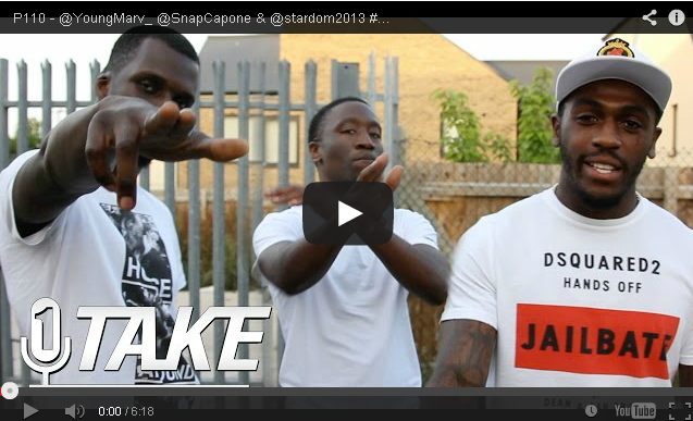 BRITHOPTV- [Freestyle Video] Young Marv (@YoungMarv_) Snap Capone (SnapCapone) Stardom (@stardom2013) – #1TAKE #Freestyle [ @P110Media] - #UKRap #UKHipHop