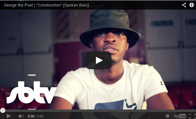 BRITHOPTV- [Freestyle Video]George The Poet (@GeorgeThe Poet) – 'Construction' [Spoken Bars] - #SpokenWord #Poetry #UKRap