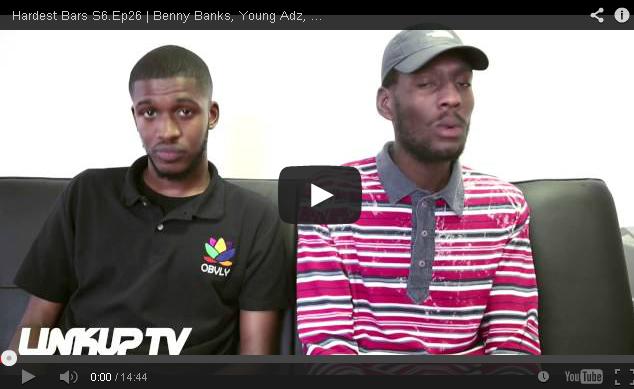 BRITHOPTV- [Hardest Bars S6.Ep26] Benny Banks ( @MrBennyBanks), Young Adz ( @YoungAdz1), Cadet ( @CallMeCadet), Deepeet ( @_Deepee_), Renz [ @JoeyClipstar - @Bar4Bar] - #UKRap #UKHipHop.