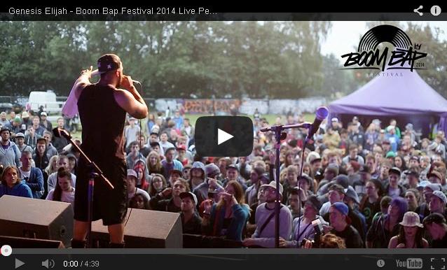 BRITHOPTV- [Live Performance] Genesis Elijah (@GenesisElijah) – Boom Bap (@BoomBapUK) Festival 2014 Live Performance - #UKRap #UKHipHop
