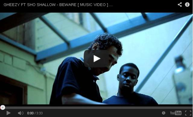 BRITHOPTV- [Music Video] Gheezy (@Generalgheezy) – 'Beware Ft. Sho Shallow (@shoshallow)' [@TVTOXIC] - #UKRap #UKHipHop.