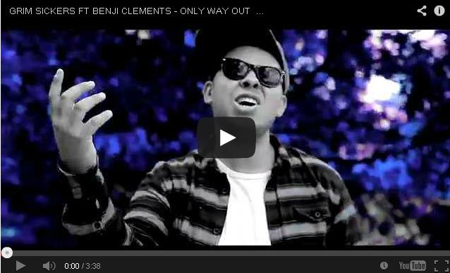 BRITHOPTV- [Music Video] Grim Sickers ( @GrimSickers1) – 'Only way Out Ft. Benji Clements ( @BenjiClements)' [ @TVToxic] - #UKRap #UKHipHop.