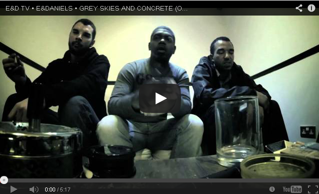 BRITHOPTV- [Music Video] Mr. 13 ( @Firts) Joshiah Matrix ( @PoisonJMatrix) – Skirmish ( @SkirmzRA) 'Grey Skies & Concrete' [ @EandDaniels TV]- #UKRap #UKHipHop.
