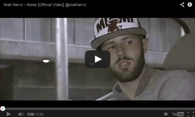 BRITHOPTV- [Music Video] Niall Nervz (@niallnervz) – 'Alone' - #UKRap #UKHipHop.