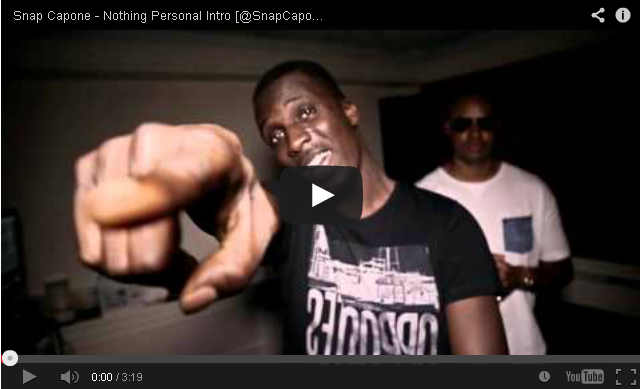 BRITHOPTV- [Music Video] Snap Capone (@SnapCapone) – 'Nothing Personal Intro' - #UKRap #UKHipHop