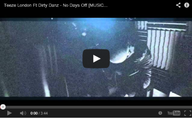 BRITHOPTV- [Music Video] Teeze London (@TeezeLondon) – 'No Days Off Ft. Dirty Danz (@DirtyDanz01)' - #UKRap #UKHipHop.