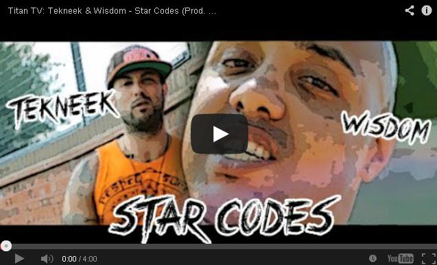 BRITHOPTV- [Music Video] Tekneek & Wisdom (@tekneek1111) – 'Star Codes' (Prod. By Einzelgänger) - #UKRap #UKHipHop