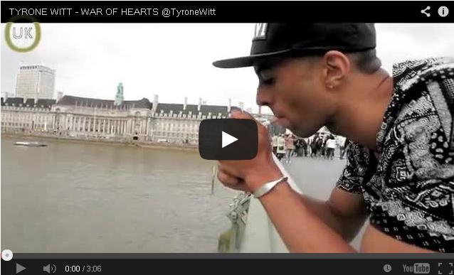 BRITHOPTV- [Music Video] Tyronne Witt (@TyroneWitt ) – 'War Of Hearts' - #UKRap #UKHipHop.