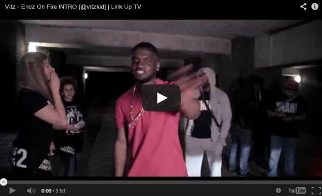 BRITHOPTV: [Music Video] Vitz (@vitzkid) - 'Endz On Fire INTRO' | #UKRap #UKHipHop