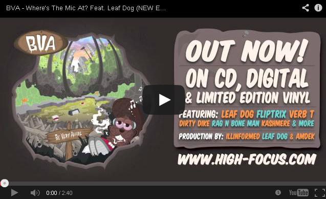 BRITHOPTV- [New Music] BVA (@BVA3) – 'Where's The Mic At- Feat. Leaf Dog (@MCLeafDog)' - #UKRap #UKHipHop.