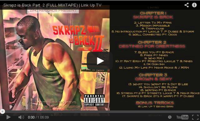BRITHOPTV- [New Music] Skrapz ( @skrapzisback) – 'Skrapz is Back Part 2 (Full #Mixtape)'- #UKRap #UKHipHop