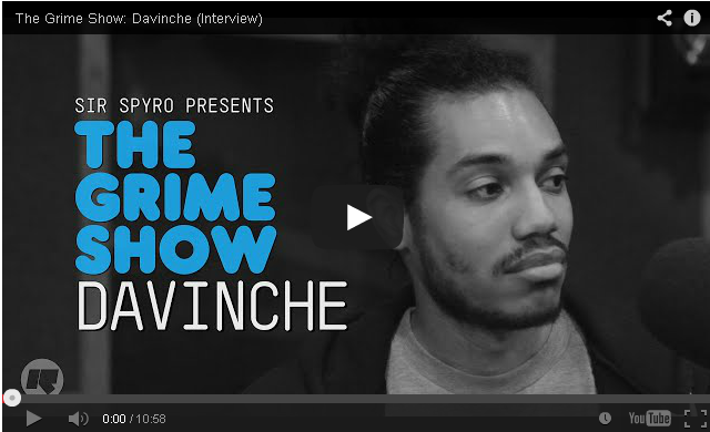BRITHOPTV- [Video Interview] Davinche (@Davinche) on @SirSpyro #GrimeShow [@RinseFM] - #Grime