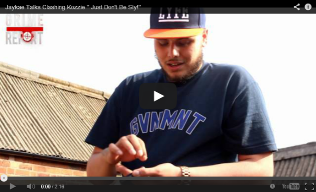"BRITHOPTV: [Video Interview] Jaykae (@Jaykae_Invasion) Talks Clashing Kozzie (@officialKozzie) ""Just Don't Be Sly!"" [ @GrimeReportTV] 
